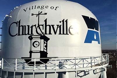 Churchville Water Tower